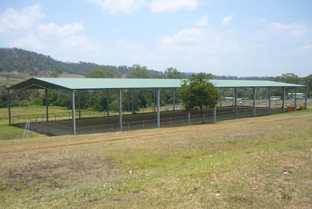 Sale on now for a horse arena by ABC Sheds