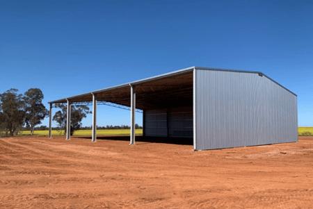 Sale farm shed - 21m span